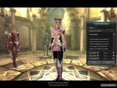 Aika - Character Creation