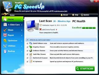 YeahBit PC SpeedUp 2.1.5 Portable