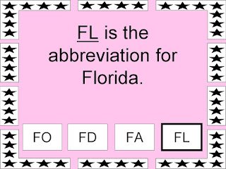 The abbreviation for florida