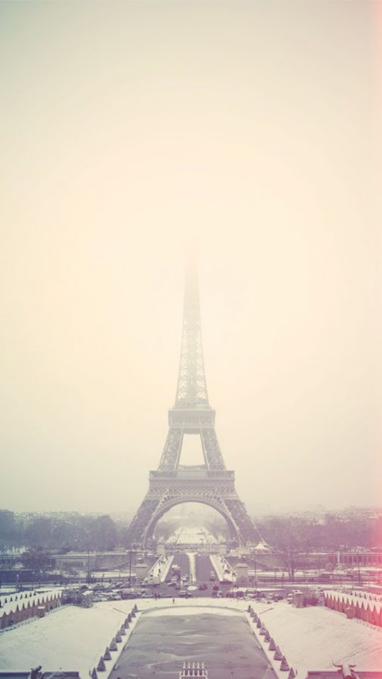 Eiffel Tower Paris Fog  Galaxy Note HD Wallpaper