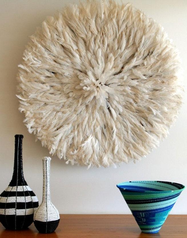 Tu hogar y t decoraci n de paredes con manualidades for Plumas para decorar