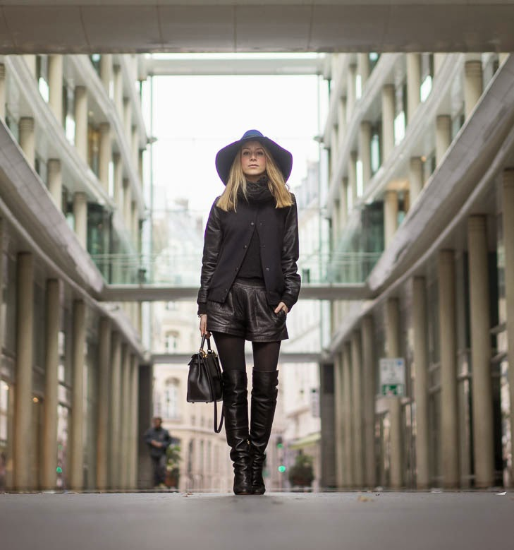webstylestory,zara,bomber jacket, chanel, over the knee, hat, &otherstories, hermès, isabel marant, streetstyle