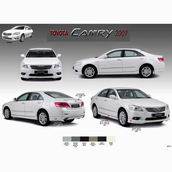 Body Kit Toyota Camry TRD 2009-2012