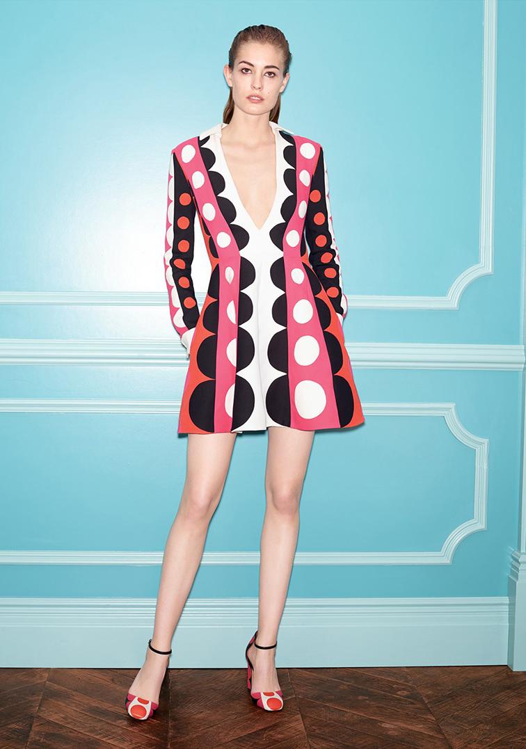 Nadja Bender for Nordstrom Fall 2014 Designer Collections Catalog in Valentino