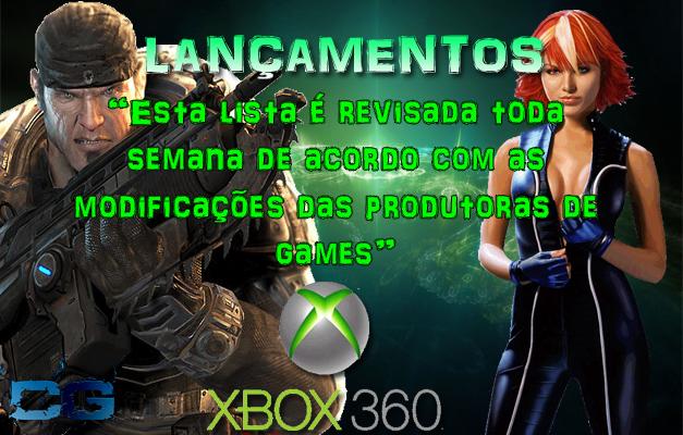 Jogos Xbox 360 Lançamentos 2013 de Lançamentos Xbox 360