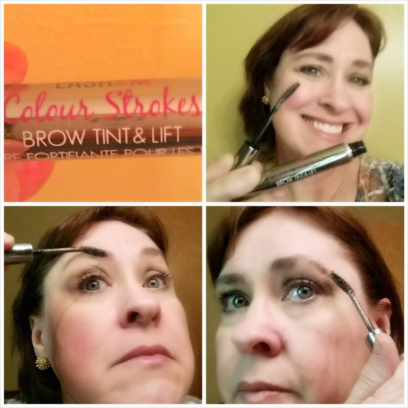 LASHEM Color Strokes Brow Tint Review and Coupon at Fashion Beyond Forty