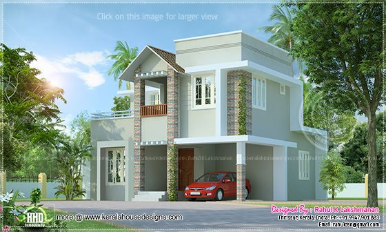 Cute small budget villa
