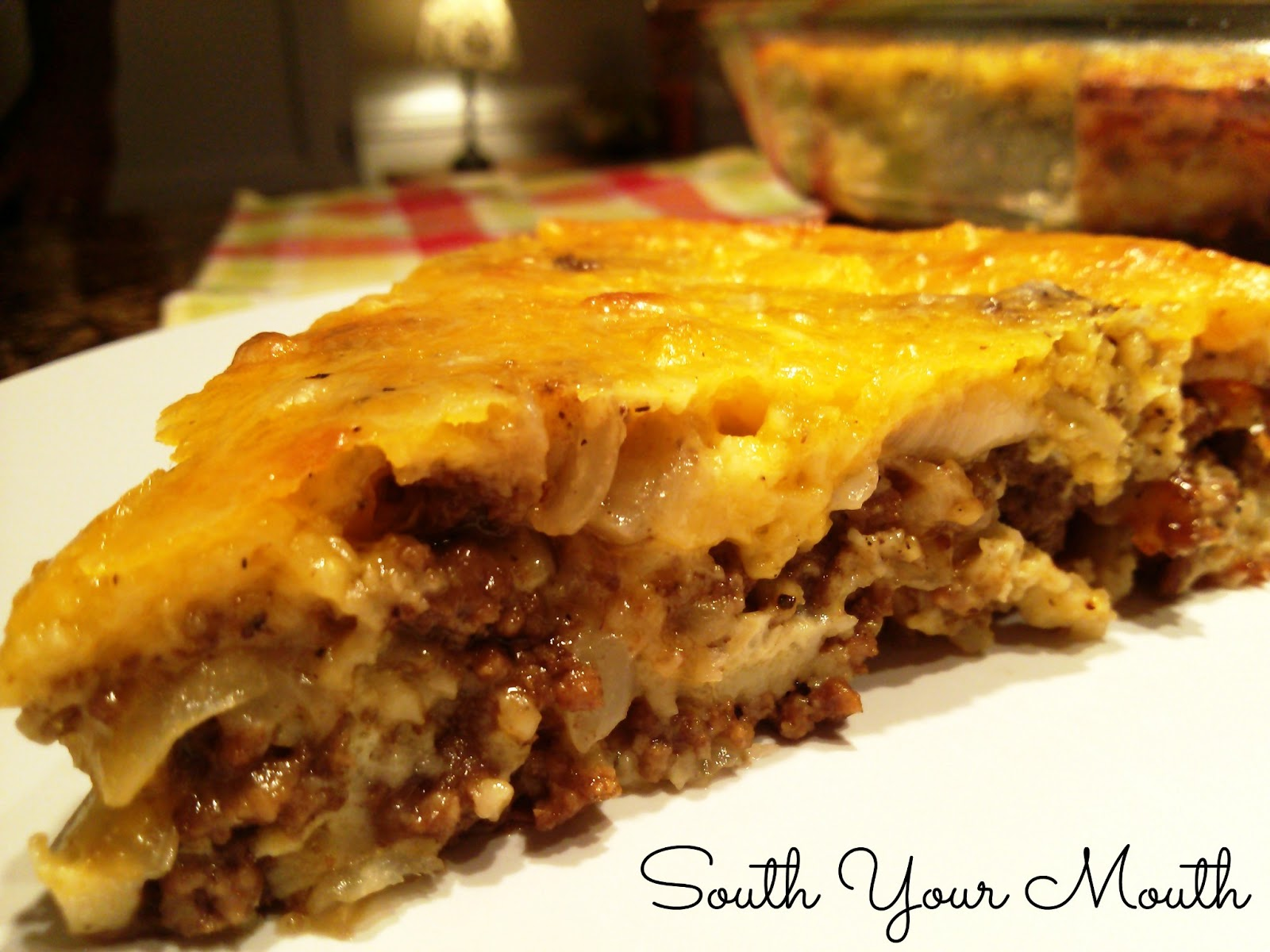 cheeseburger pie 1 pound ground beef 1 medium onion chopped 1 1 ounce ...