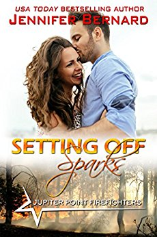 Setting Off Sparks (Jupiter Point #4) by Jennifer Bernard (CR)