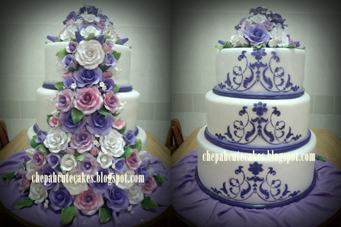 Double Facade Wedding Cakes