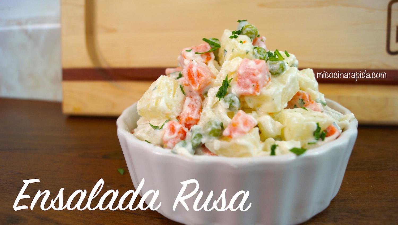 Ensalada rusa mi cocina r pida - Como decorar una ensaladilla rusa ...