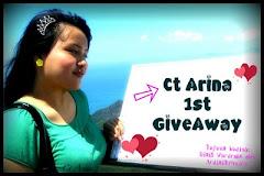 """Ct Arina 1st GiveAway"""