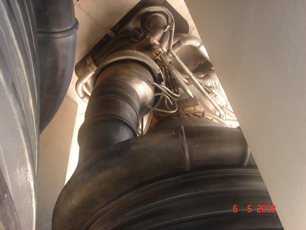 Inside Rocket Engine