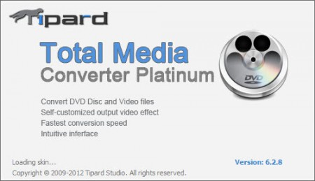 Tipard Total Media Converter Platinum 6.2.18.15224