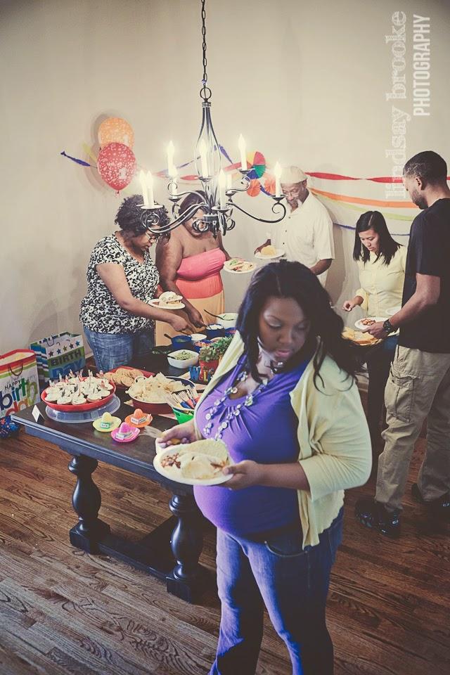 fiesta birtday taco bar