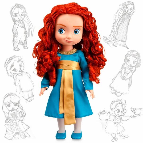 muñeca merida animators