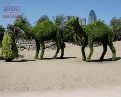 patung rumput