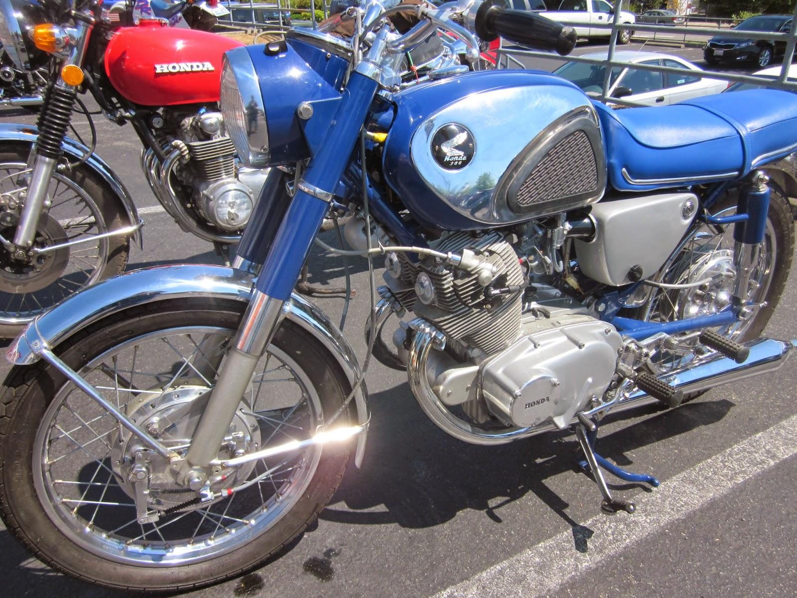Oldmotodude 1967 305 honda on display at the 2014 vjmc for Hinshaw honda auburn wa