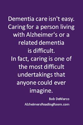 Dementia care isn't easy