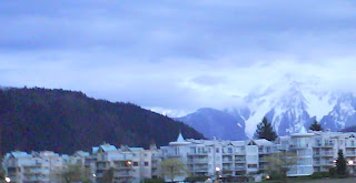Harrison Hot Springs in the evening