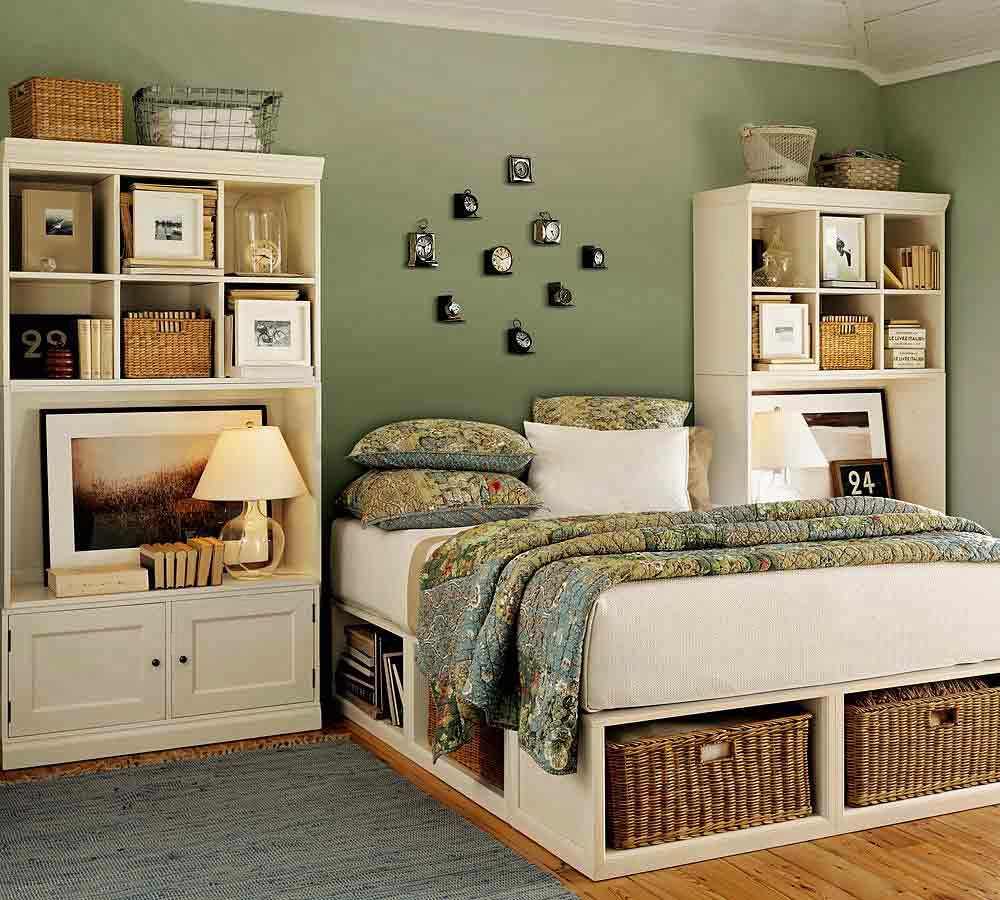Country Green Bed Linens