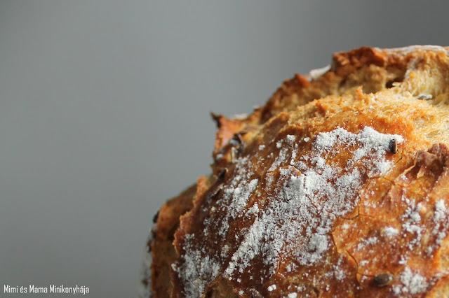 Dagasztás nélküli házi kenyér