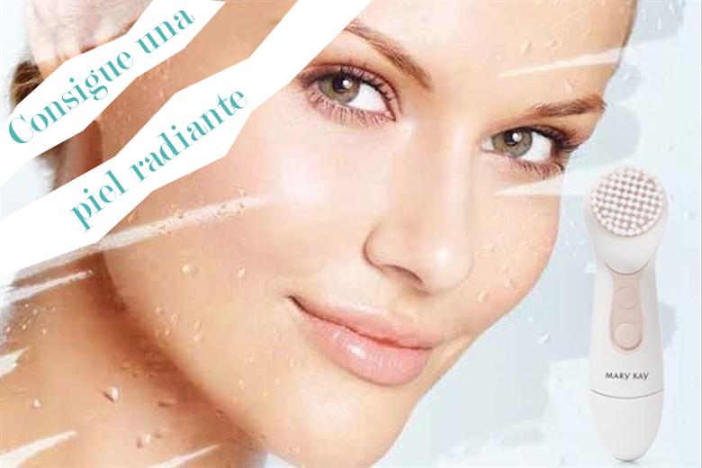 cepillo limpiador facial skinvigorate