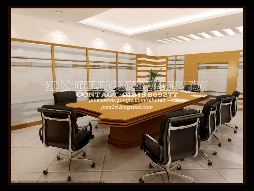 JONs 3D deSign: OFFICE INTERIOR DESIGN-02