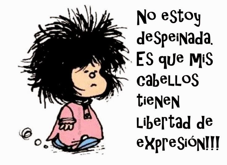 Mafalda, pureza e liberdade
