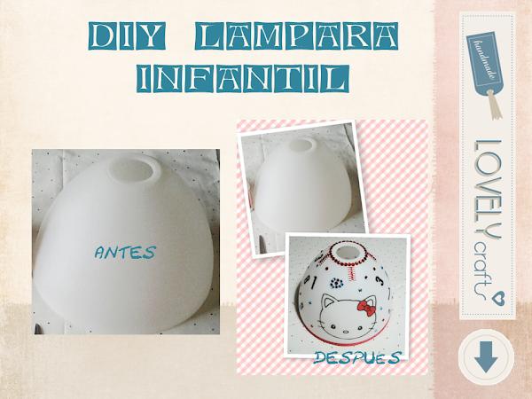 DIY- LAMPARA INFANTIL