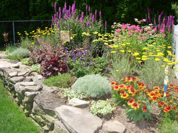 Is it done yet planning my trip for Perennial garden design zone 6