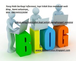 Web BLOGGER GRATIS SELAMANYA