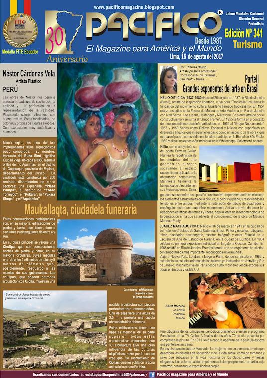 Revista Pacífico Nº 341 Turismo