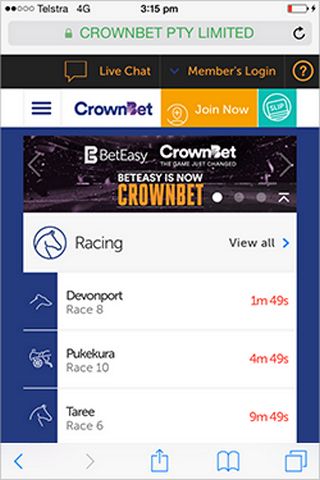 Crownbet Mobile Offers