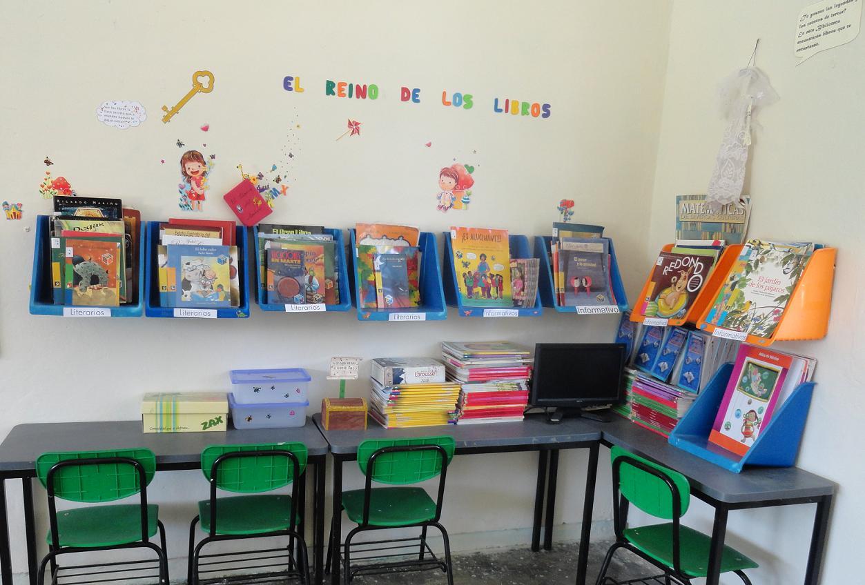 Mi escuelita multigrado actividades de lectura for Decoracion aula primaria