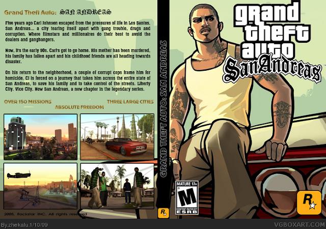 تحميل لعبة Gta San Andreas 7 برابط واحد مباشر
