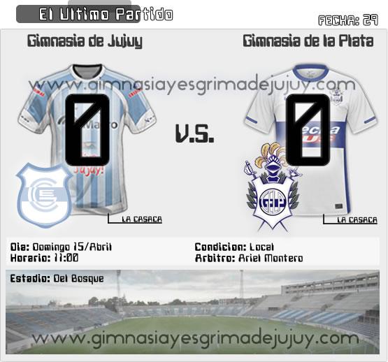 Fecha 29: Gimnasia de Jujuy vs Gimnasia La Plata