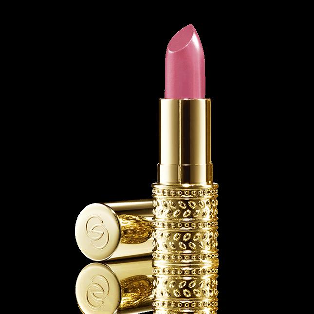 barra de labios rosa