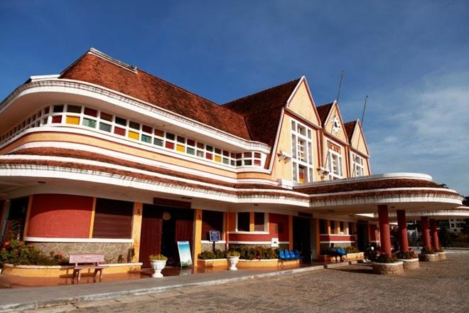 Quang cảnh nhà ga Đà Lạt