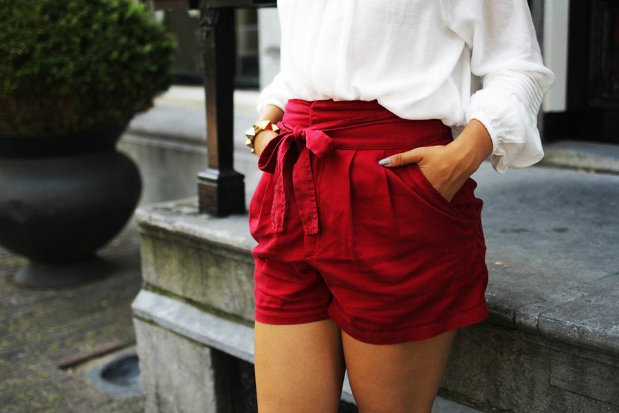rote mango shorts