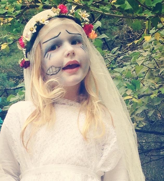 Habitat At Home Halloweens Corpse Bride - Corpse Bride Inspired Wedding Dress
