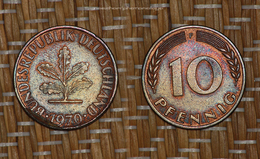 Germany coins collection - 10 pfennig 1970