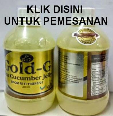 Sedia Jelly Gamat-Gold-G Rp. 180.000/botol