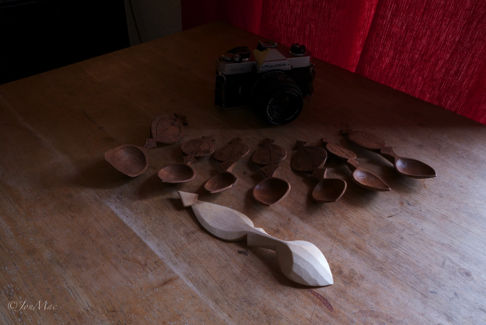 whittled spoons+carved spoons+spoon carving