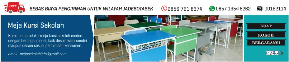 Produsen Meja Kursi Sekolah Rangka Besi, Meja Sekolah, Meja Kursi Sekolah Modern, Meja Kursi Siswa