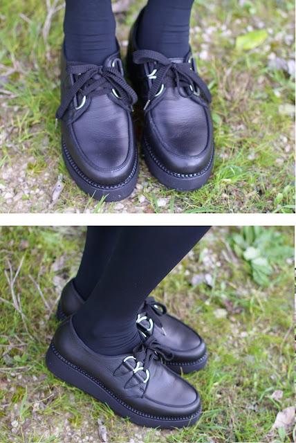 penelope flatform creepers, flatform shoes, fashion and cookies, fashion blogger
