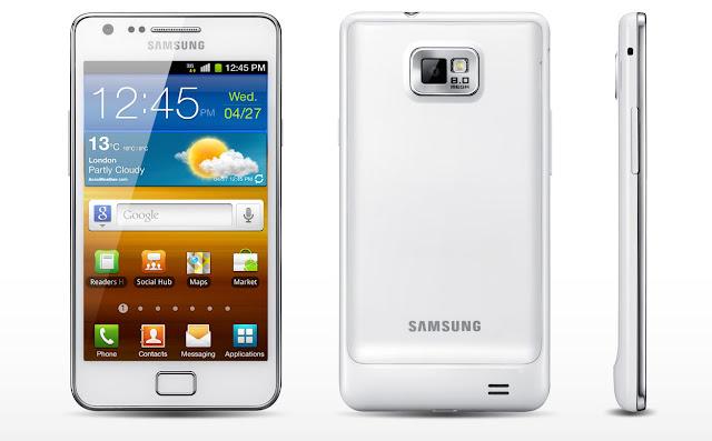 Samsung Galaxy S II I9100 White