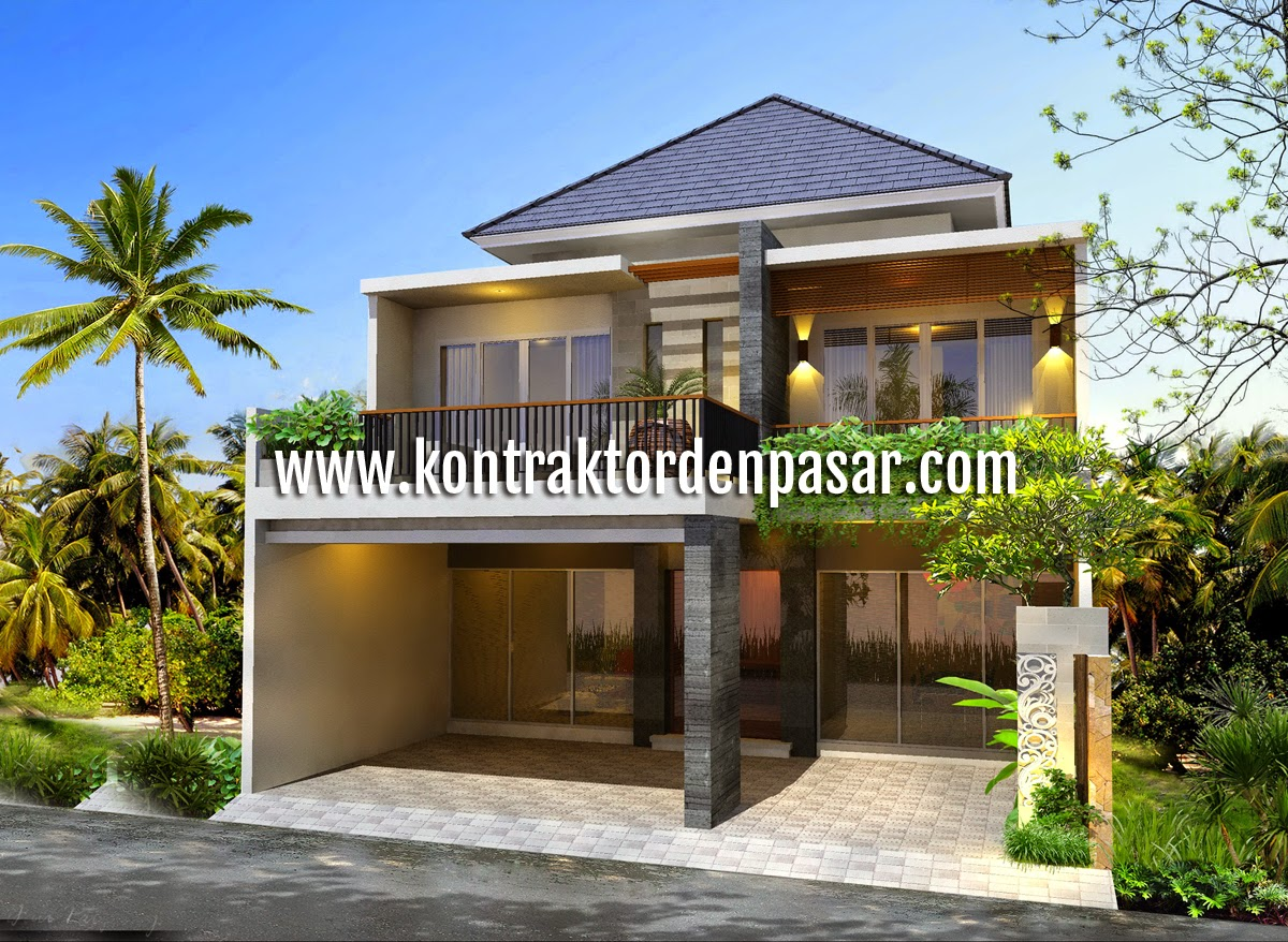 Desain Rumah Minimalis 2 Lantai Luas Tanah 200M2