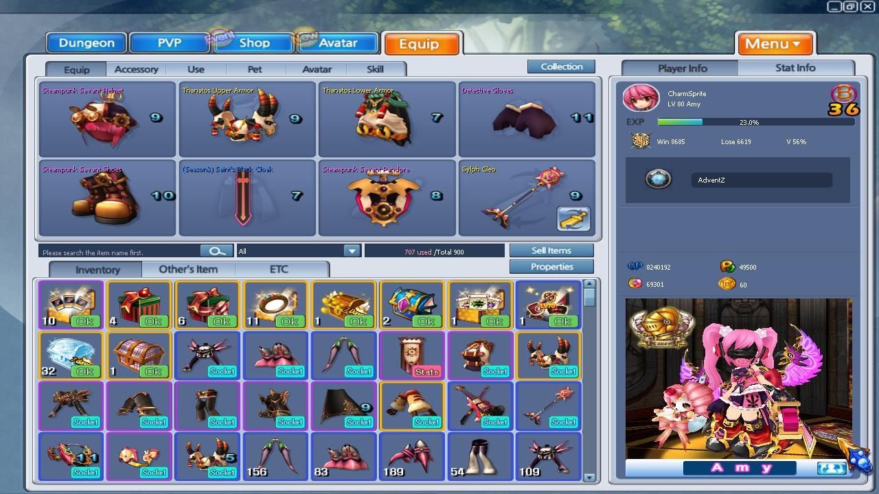 Bug Compilation as of March 2013 GrandChase20130311_153754