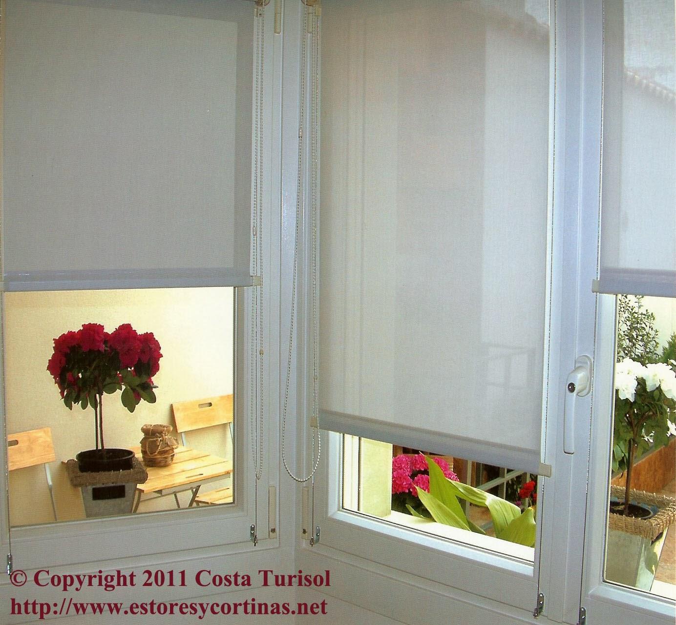 Decoracion interior cortinas verticales estores - Imagenes de estores ...